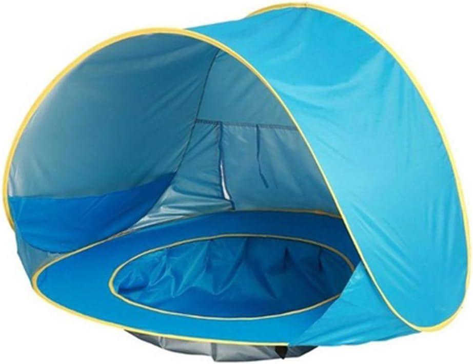 ZFLL Tienda Impermeable Beb/é Infantil Camping Summer Beach Tent Baby Toldo Senderismo Agua Pop Up Carpa Mar Viajes al Aire Libre