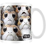 Star Wars the Last Jedi Many Porgs Coffee Mug, Ceramic, Multi-Colour, 7.9 x 11 x 9.3 cm