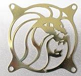 FAN Grill 80mm Gurad, Silver or Gold color