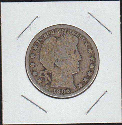 (1906 Barber or Liberty Head (1892-1915) Half Dollar Very Fine)