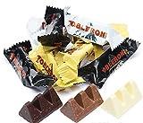 Toblerone Chocolates Milk Dark White, Variety Pack, Milk Chocolate, Dark Chocolate & White Chocolate, individual Bars