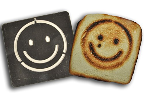 (Burnt Impressions Toaster Inserts - Smiley Face )