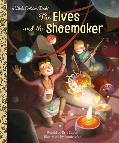 The Elves and the Shoemaker (Little Golden Book) (The Elves And The Shoemaker Fairy Tale)