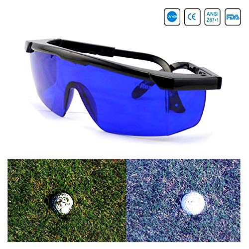 Feisuo Feisou Golf Ball Finder Professional Lenses Glasses with Mould Case Eyeglass Cords Lens Less Straining Sunglasses Goggles -
