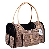 Cheap Waterproof Oxford Pet Dog Carrier Outdoor Handbag (Brown)