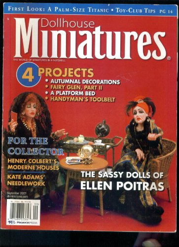 Dollhouse Miniatures. September 2007. Sassy Dolls of for sale  Delivered anywhere in USA