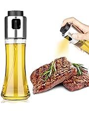 Mafiti Oil Spray for Cooking, Oil Spray Bottle Versatile Glass,Olive Oil Sprayer Dispenser for Air Fryer,Salad, Cooking, Baking, Roasting, Grilling, Home BBQ