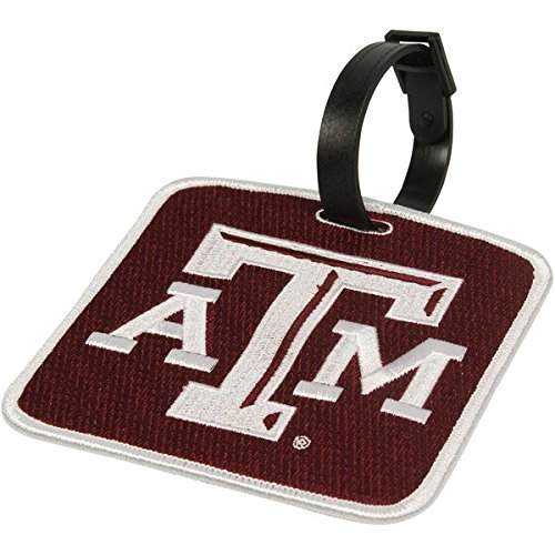 NEW! Texas A&M Aggies Golf Bag Tag Embroidered Luggage Tag