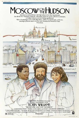 Moscow on the Hudson Poster B 27x40 Robin Williams Maria Conchita Alonso Cleavant Derricks
