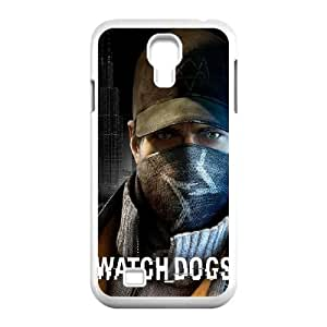 Watch Dogs Samsung Galaxy S4 9500 Cell Phone Case White Phone Accessories JVG02779