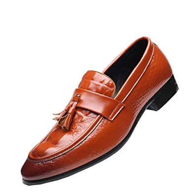 277218332f96 ローファーメンズ 本革 スリッポン タッセル ビジネスシューズ カジュアル ドライビングシューズ 革靴 24.0cm 紳士靴