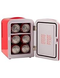 6 cans kept Mini Compact Dorm Small Fridge Cooler