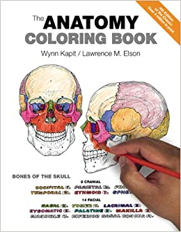 The Anatomy Coloring Book Amazoncouk Wynn Kapit Lawrence M Elson 0642688054786 Books