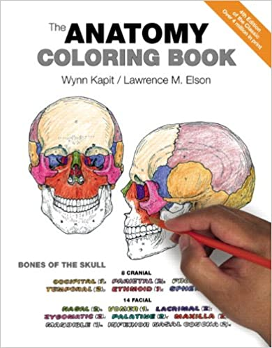 The Anatomy Coloring Book 9780321832016 Medicine Health Science Books Amazon
