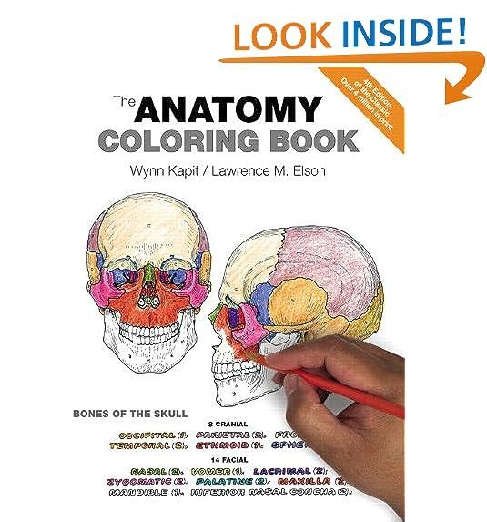 The Anatomy Coloring Book 0642688054786 Medicine Health Science