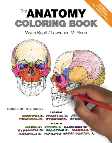 The Anatomy Coloring Book (Anatomy And Physiology From Science To Life)