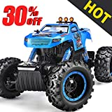 Remote Control Trucks Monster RC Car 1:12 Scale Off Road Vehicle 2.4GHz Radio