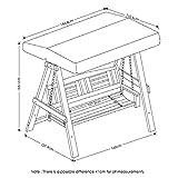 Furinno FG18409P Tioman Hardwood Patio Furniture