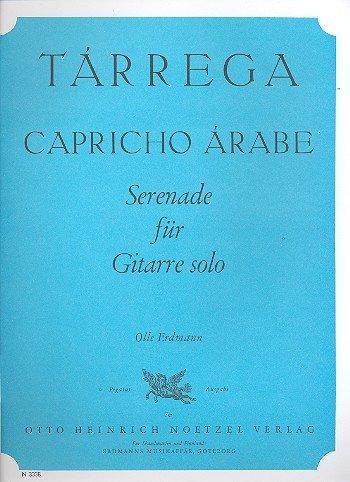 Capricho Arabe: Serenata Para Guitarra solo: Amazon.es ...