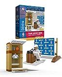 NBA Locker Room & PR Area OYO Sports with all 30 Team Stickers & Minifigure