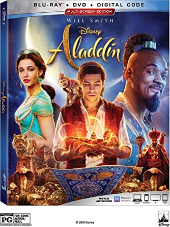 Amazon com: Aladdin [Blu-ray]: Will Smith, Mena Massoud