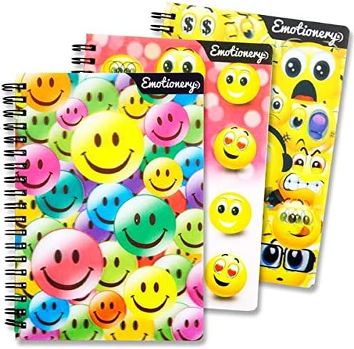 OFFICIAL EMOJI HARDBACK NOTEBOOK STATIONARY //SCHOOL// COLLEGE// PARTY BAGS