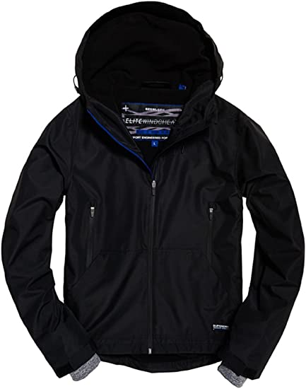 Superdry Technical Elite Windcheater Veste de Sport Homme