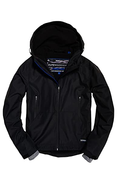 Superdry Mens Hooded Windcheater