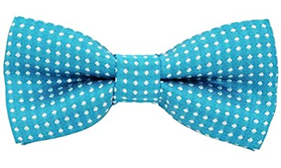 Bak Bak Polka Dots Handmade Adjustable Bow tie For Small and Medium for Cat / Dogs / Rabbits ( Recommended by American pet safety Association)