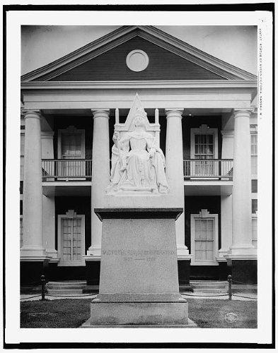 Photo: Statue,Queen Victoria,Nassau,West Indies,Bahamas,Detroit Publishing Co,c1906