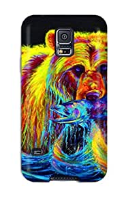 New Style High-end Case Cover Protector For Galaxy S5(bear) 8728213K16223567