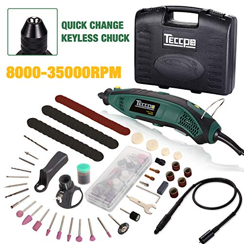 Rotary Tool Kit with MultiPro Keyless Chuck