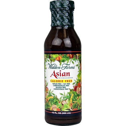 Asian Salad Dressing Calorie Free 12 Ounces (Case of 6) by Walden - Store Walden