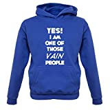 Yes! I Am One Of Those VAIN People - Kids Hoodie - Royal Blue - XXL 12-13 Yrs