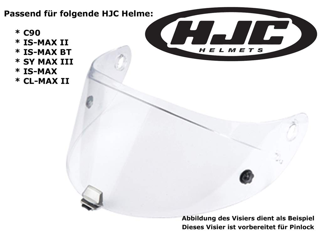 Clear hj-17 // IS-MAX IS-MAX BT KLAR CL-MAX2 SY-MAX3 Hjc helm Visier