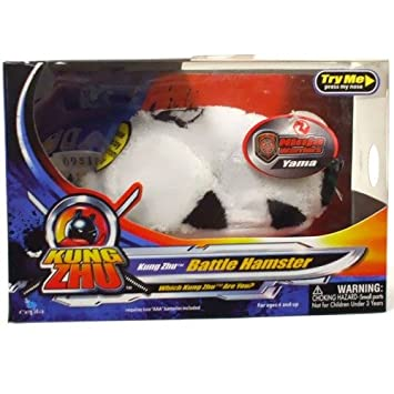 Kung Zhu Battle Hamster Ninja Warriors Yama, Thorn & Drayco ...