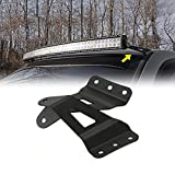 7 led bar brackets - AUXMART Upper Windshield Curved Mounting Brackets for 50