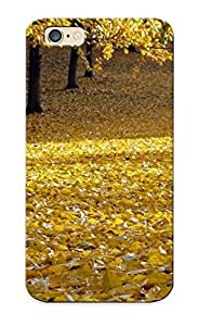 Inthebeauty Brand New Defender Case For Iphone 6 (landscapes Nature Trees Autumn Leaves Land Fallen Leaves ) / Christmas's Gift
