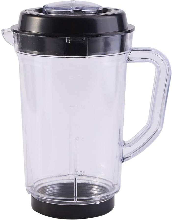 Juicer Blender Pitcher, Juicer Measuring Cup Replacement for Magic Bullet, 1000ml Plastic Water Milk Cup Holder For Magic Bullet