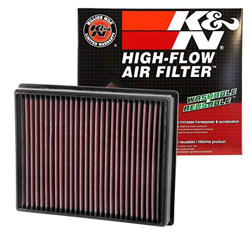 K&N Engineering 33-2472 Multi Hyundai Accent L4-1.6L F/I, 2012-2017 Replacement Air Filter ()