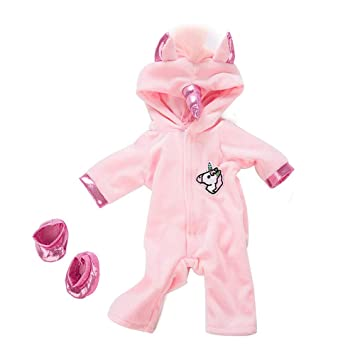 B US 22/'/' Handmade Pink Reborn Newborn Baby Girl Doll Clothes Jumpsuits