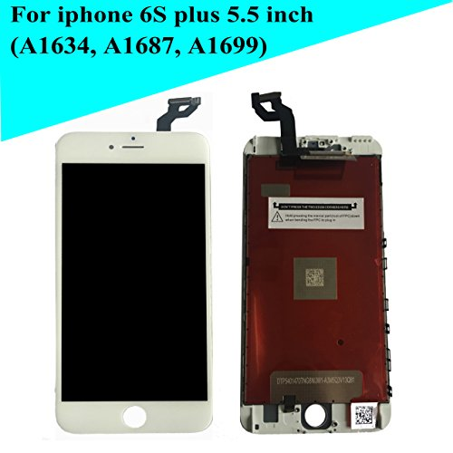 - New White LCD Screen Replacement for iPhone 6s Plus 5.5