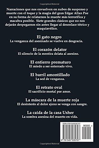 Amazon.com: Narraciones de terror (Spanish Edition) (9781545535707): Edgar Allan Poe: Books