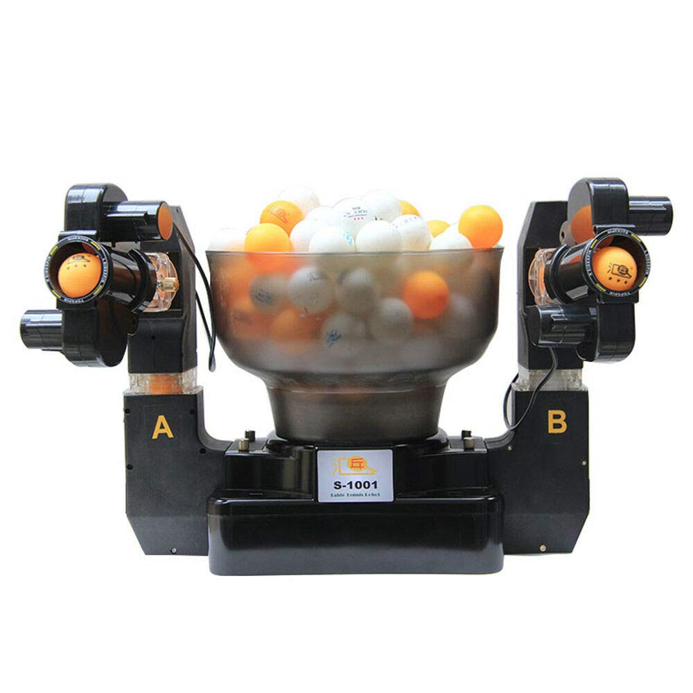 BSTOOL 9 Spins Ping Pong Ball Machine Automatic Table Tennis Robot for Training