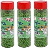 Captain Red Fruit Balls, Pineapple, 125g (Pack of 3)