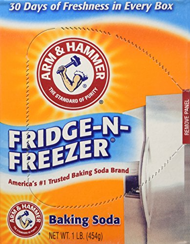 Arm & Hammer Baking Soda Fridge Freezer Package, 16-Ounce Boxes (Pack of 6) ()