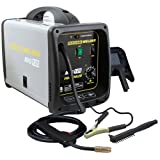 MIG Welder - Pro-Series MMIG125 125 Amp Fluxcore Welder Kit, Black
