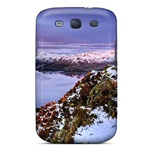 Fashion For The For LG G2 Case Cover - Eco-friendly Retail Packaging(lovely Lake Mountains In Winter)