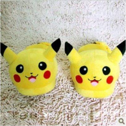 29b21f542aa98 BEAUTY IS LIFE BeautyLife 1 paire de Pantoufle Pikachu en Peluche très  mignon  Amazon.fr  Jeux et Jouets