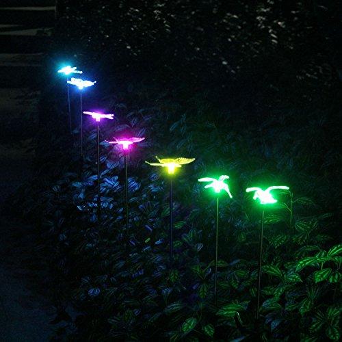 Oxyled Solar Garden Lights 3 Pack Solar Garden Stake